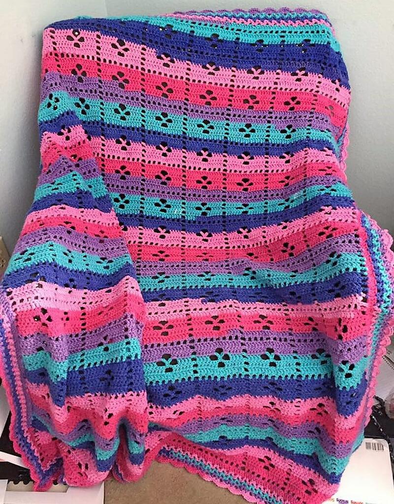 crocheted afghan idea 9