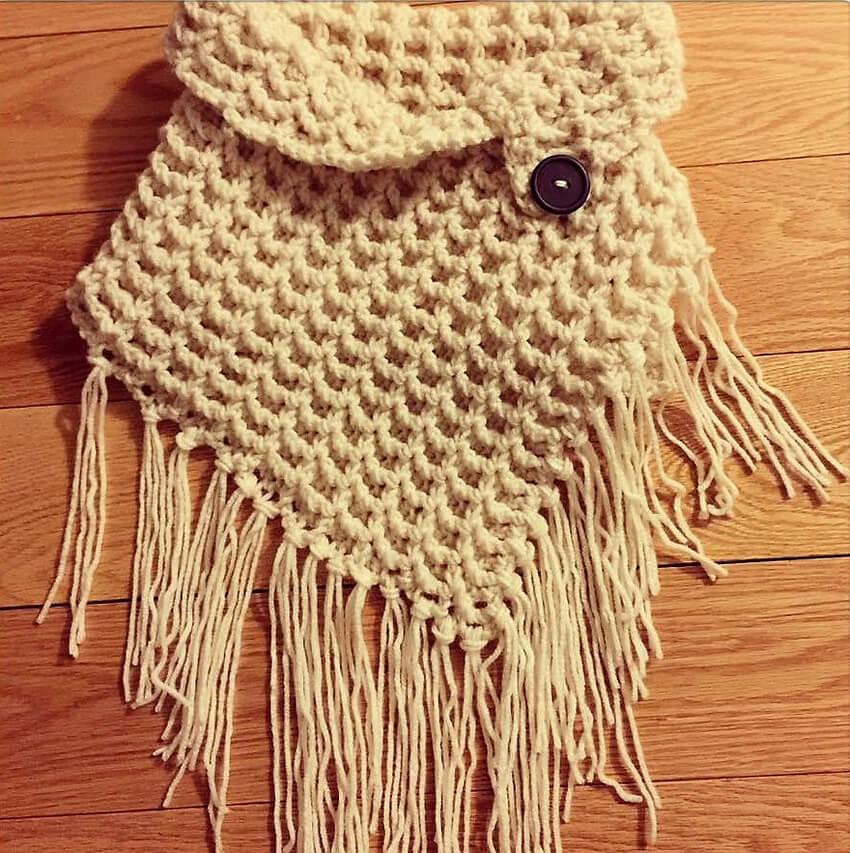 crochet cowl 10