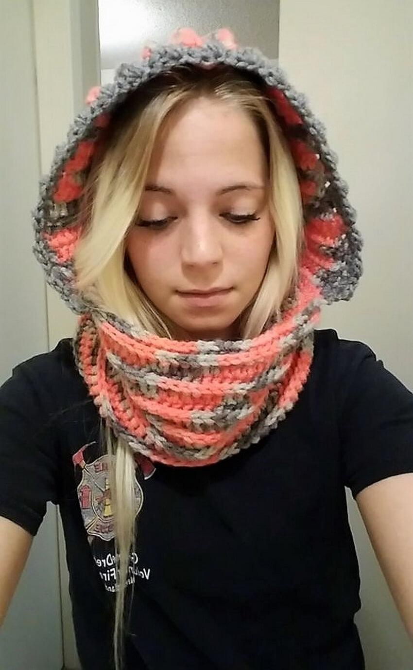 crochet cowl 3 - 1