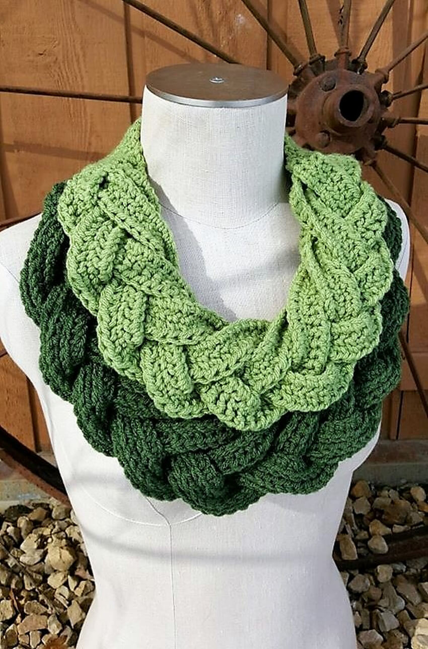crochet cowl 4