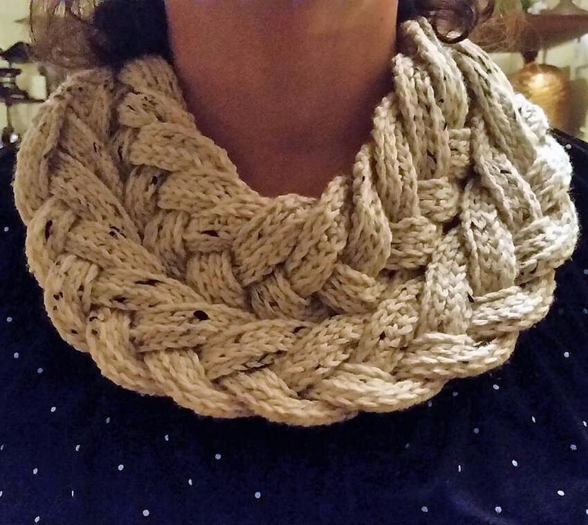 crochet cowl 5