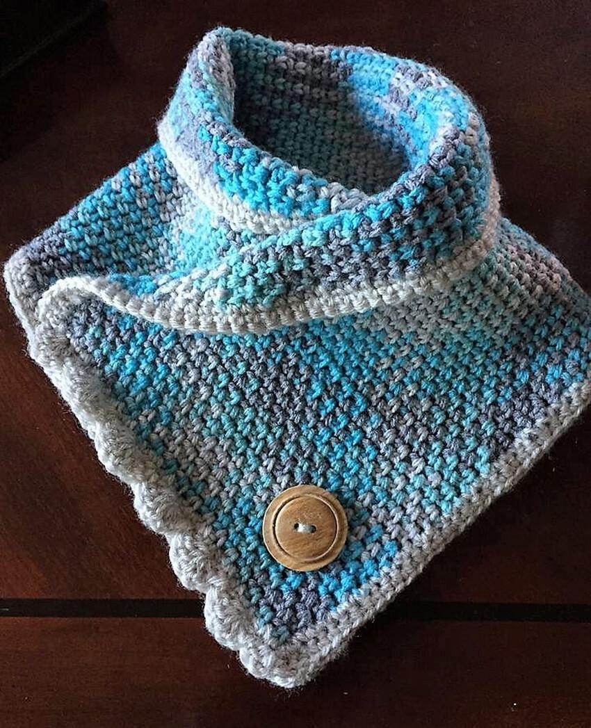 crochet cowl 7