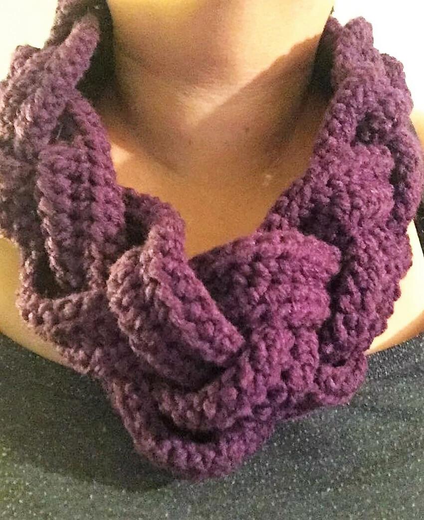 crochet cowl 8