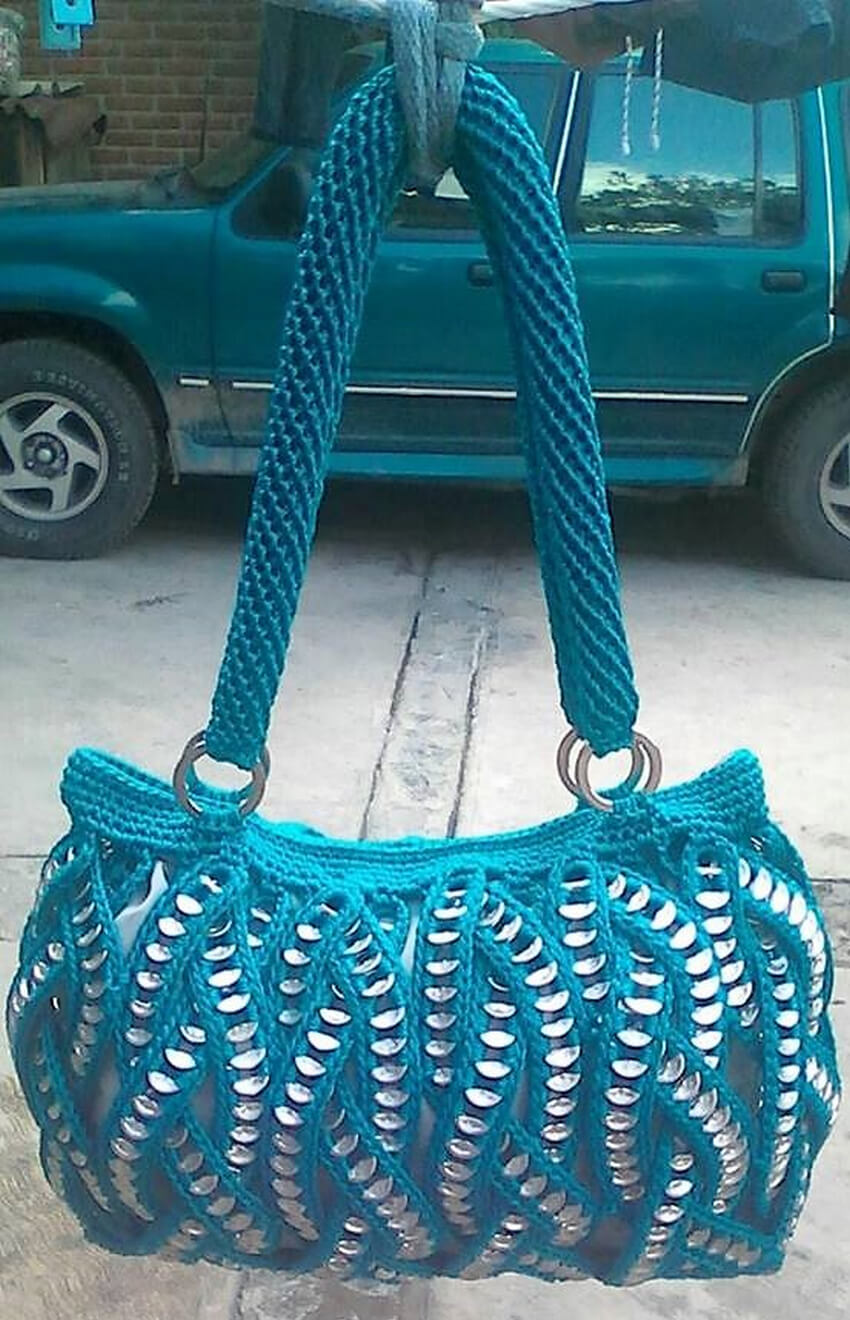 crocheted bag design ideas 13
