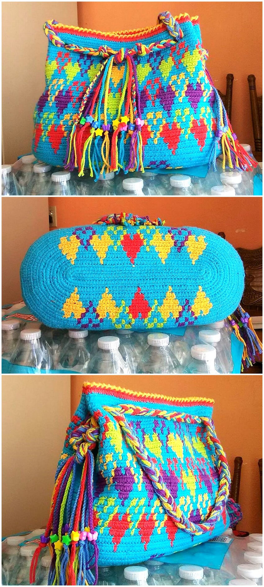 crocheted bag design ideas 15