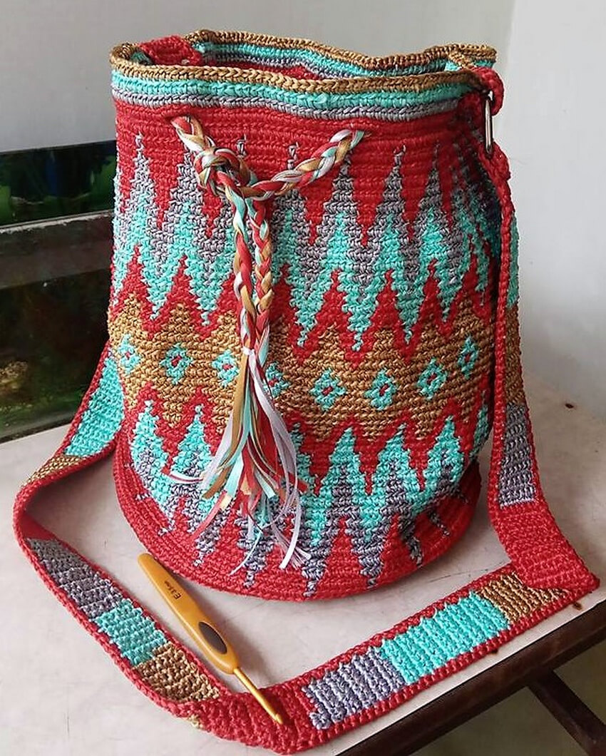 crocheted bag design ideas 4