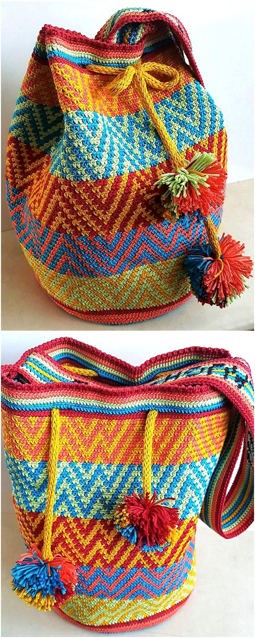 crocheted bag design ideas 5