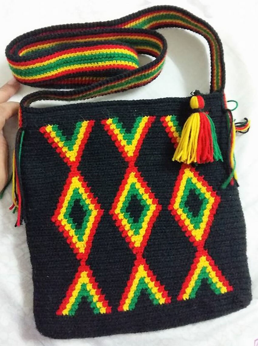 crocheted bag design ideas 6