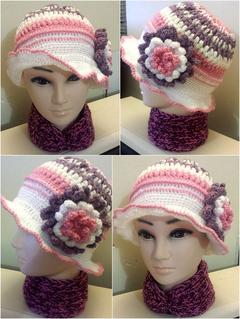 hat crocheting 13