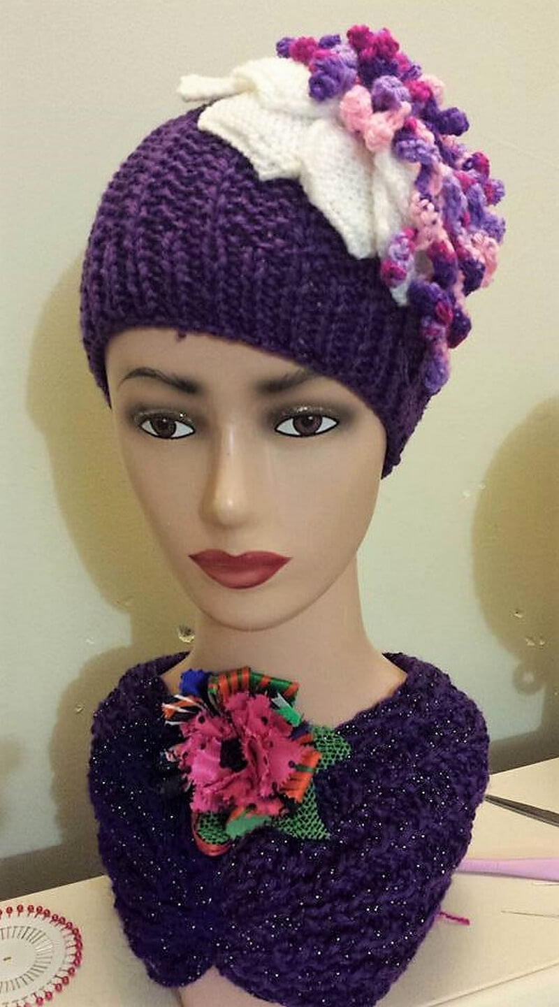 hat crocheting 14
