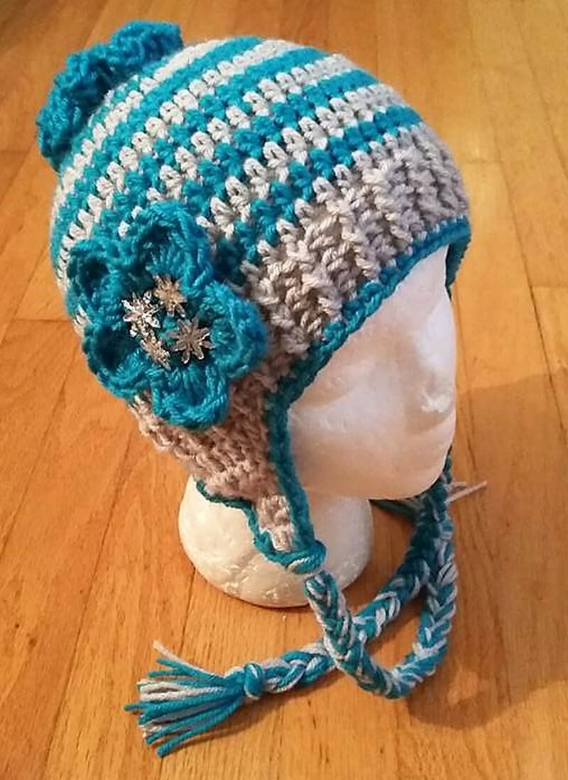 hat crocheting 3
