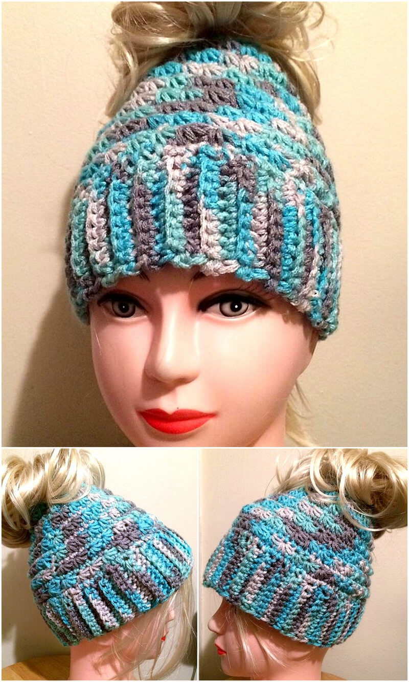 hat crocheting 8