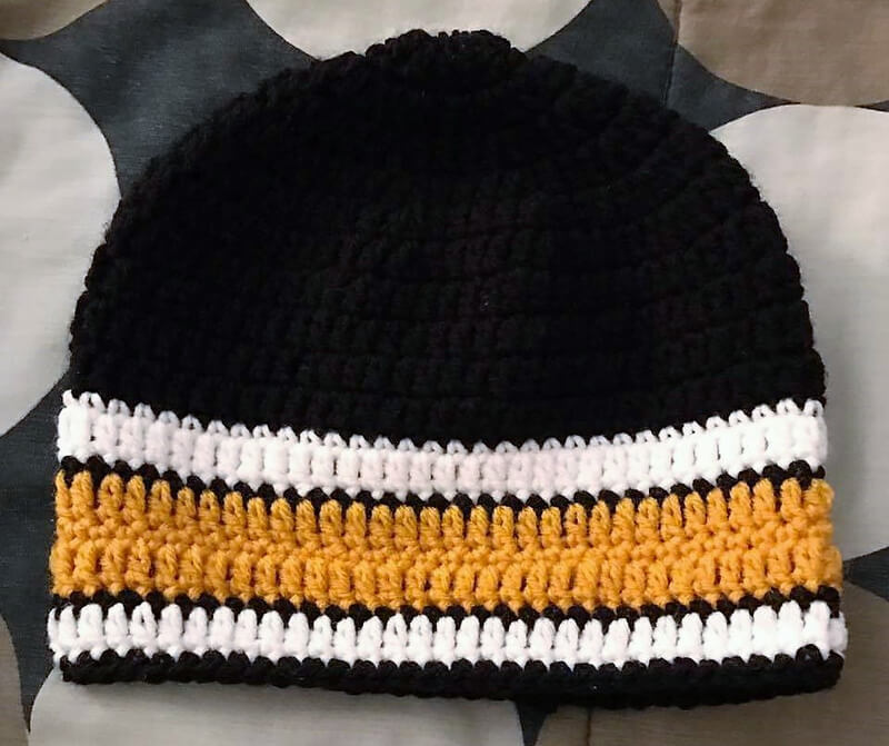 hat crocheting 9