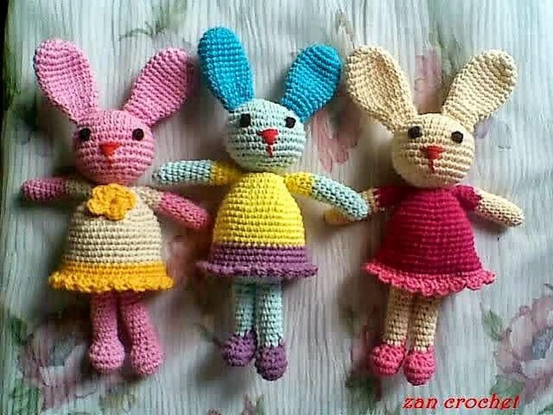 """Amigurumi Bunny """"Si Kelinci"""
