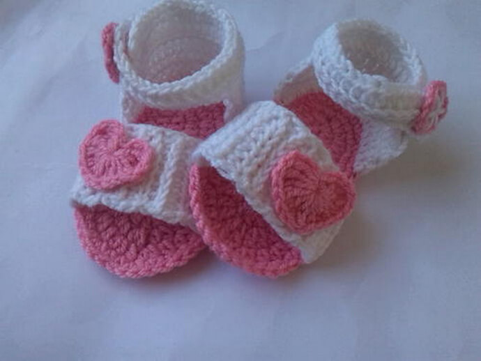 Baby Sandal Crochet Pattern