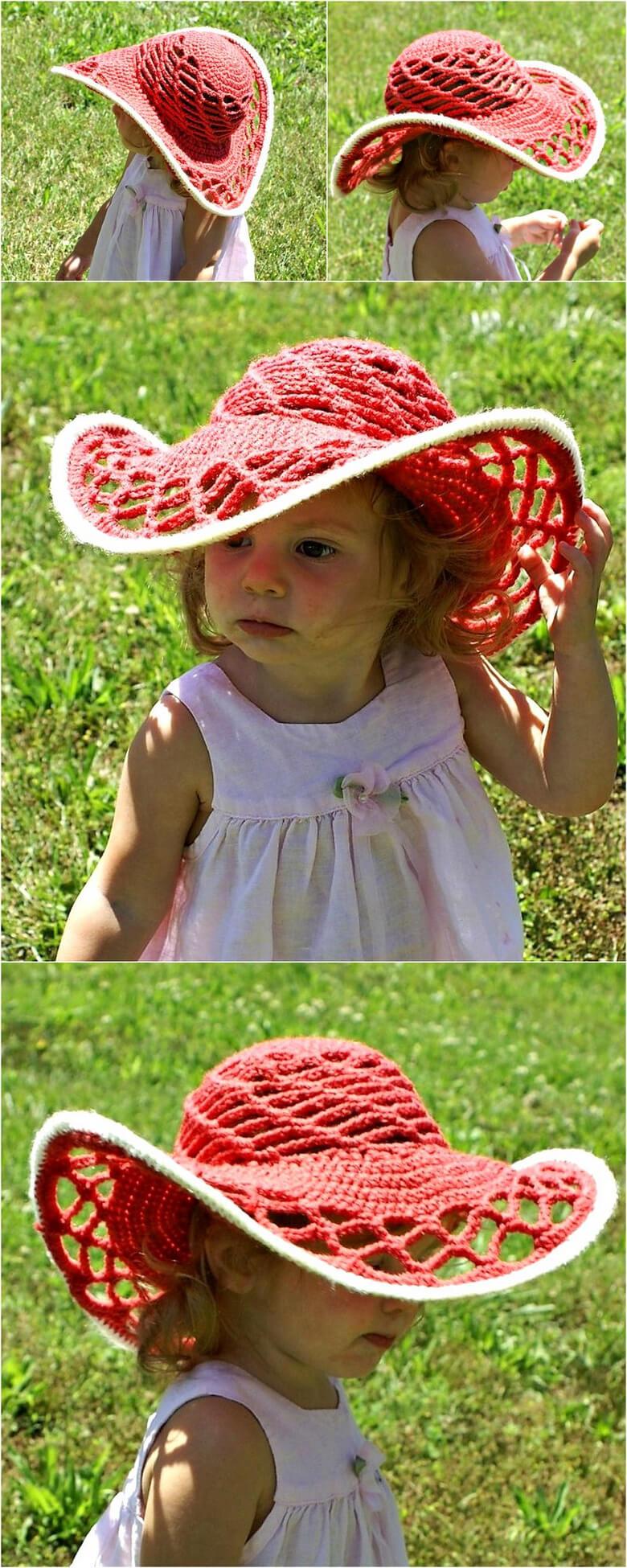 Belmont Sun Hat – FREE Pattern