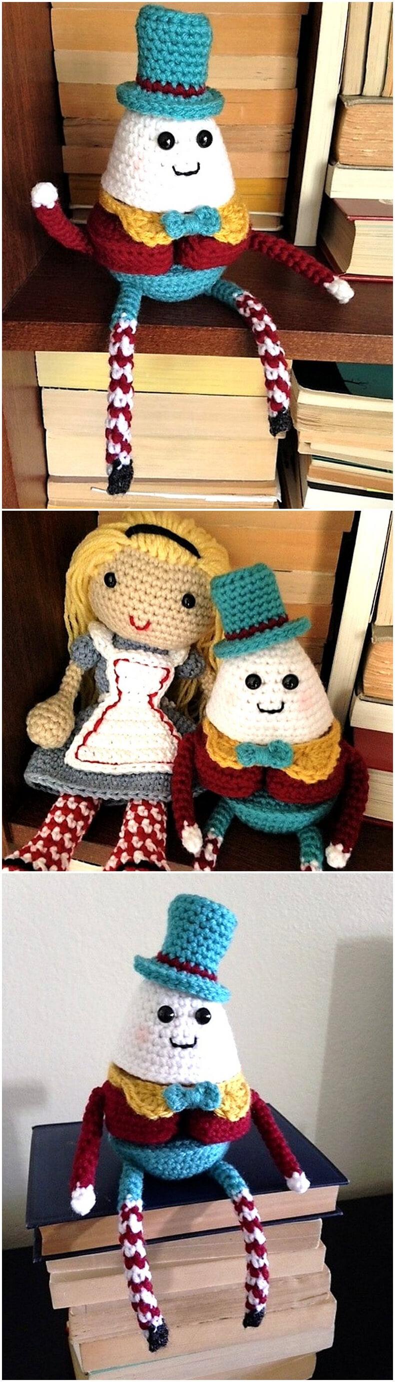 FREE PATTERN! Humpty Dumpty Puzzle Doll