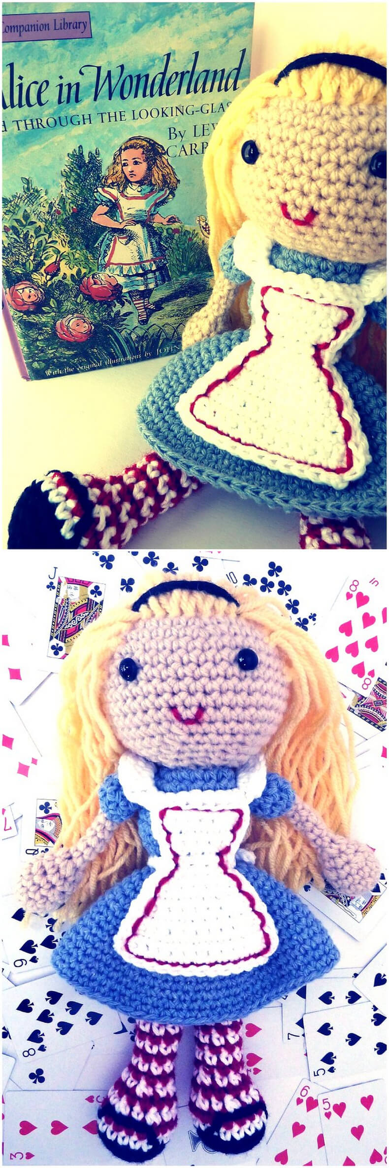 Free Alice in Wonderland Crochet Doll Pattern
