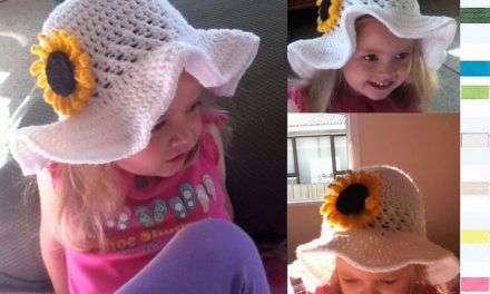 Crochet Sun Hat Free Patterns for Kids