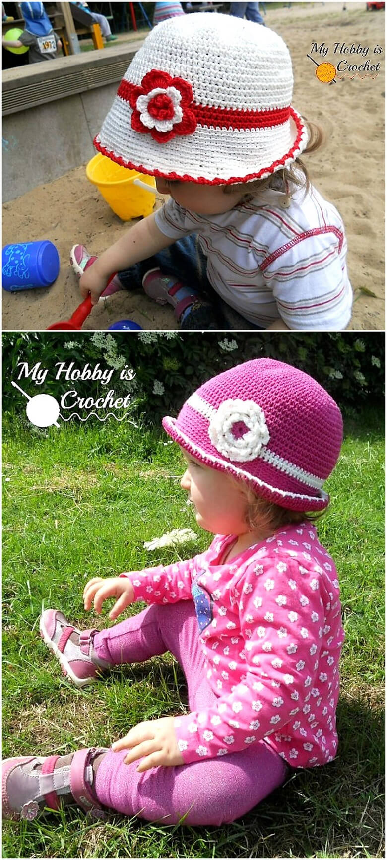 Toddler Cotton Sun Hat