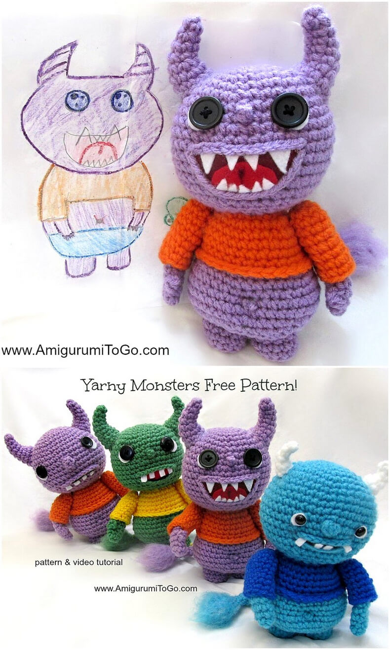 Yarny Monsters Pattern