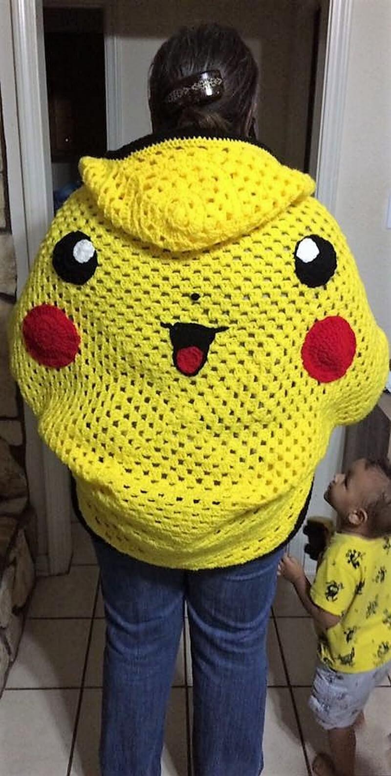 crochet cardigan 1