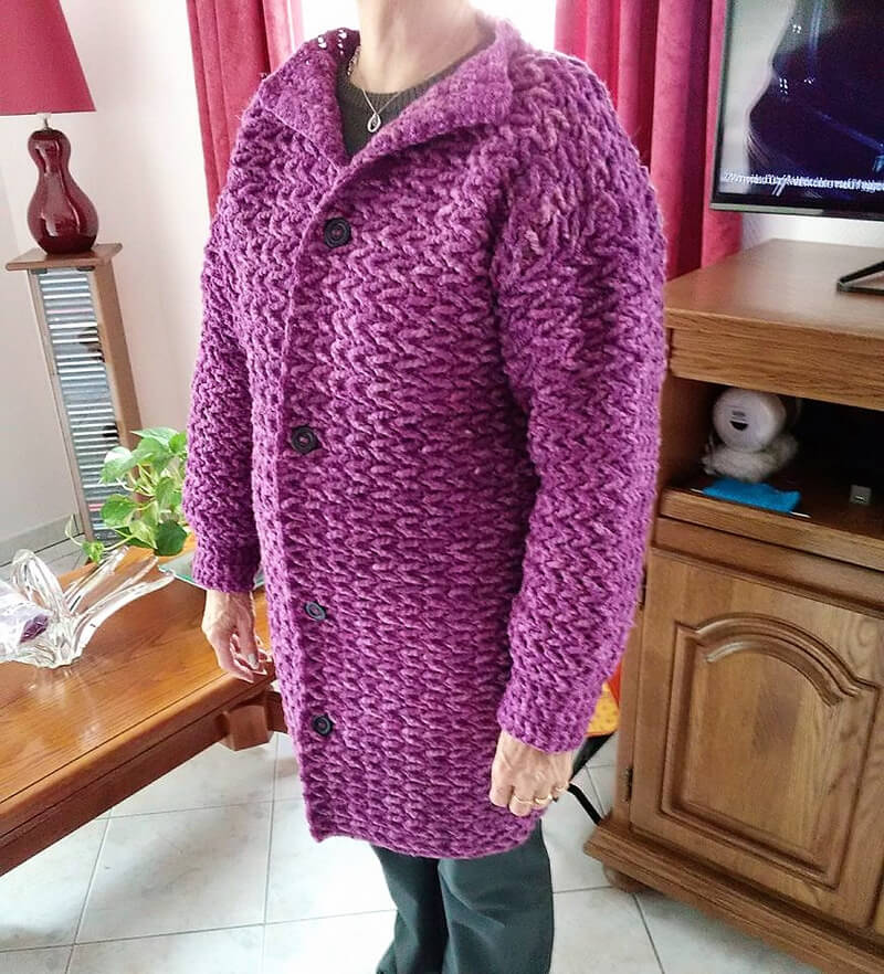 crochet cardigan 2