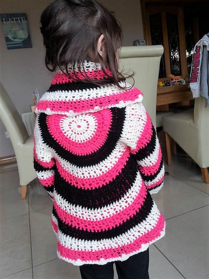crochet cardigan 4