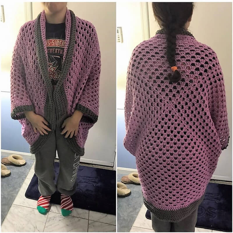 crochet cardigan 6