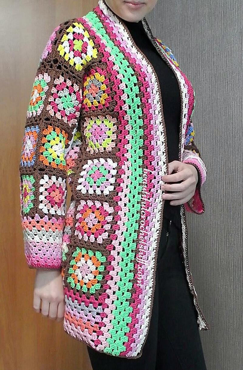 crochet cardigan 8
