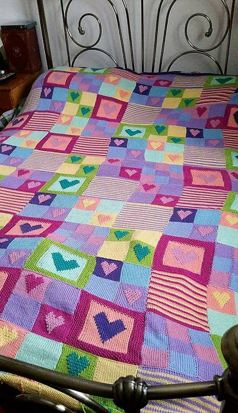 crocheted blankets 1