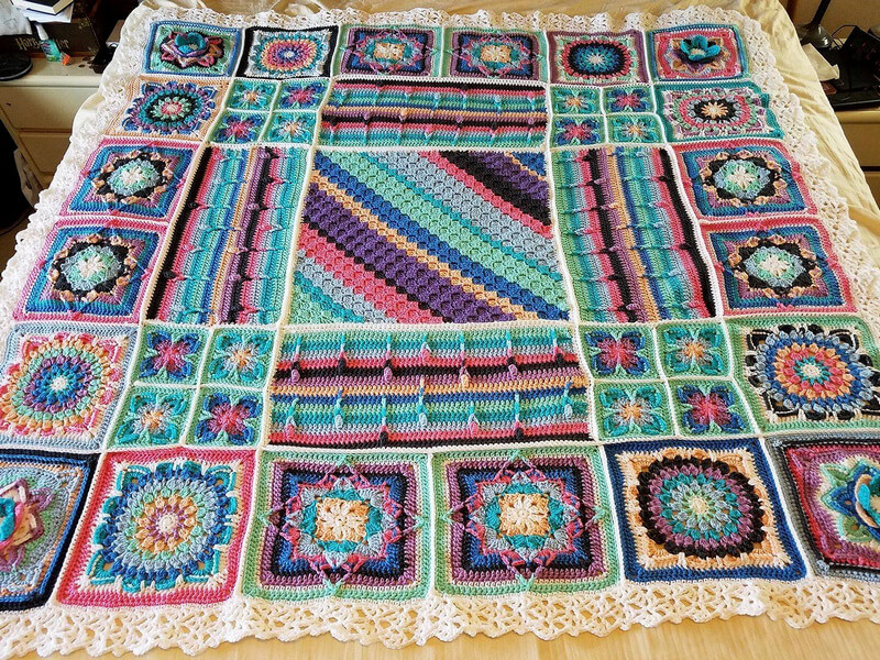 crocheted blankets 10