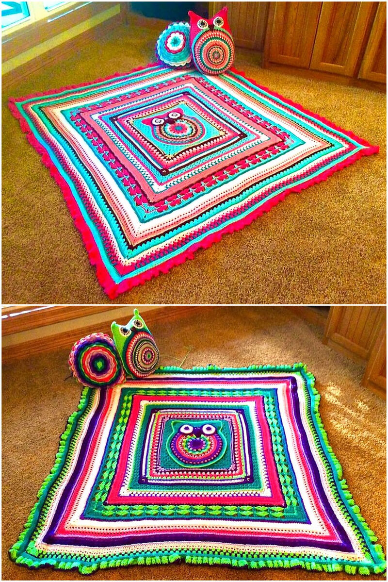 crocheted blankets 2