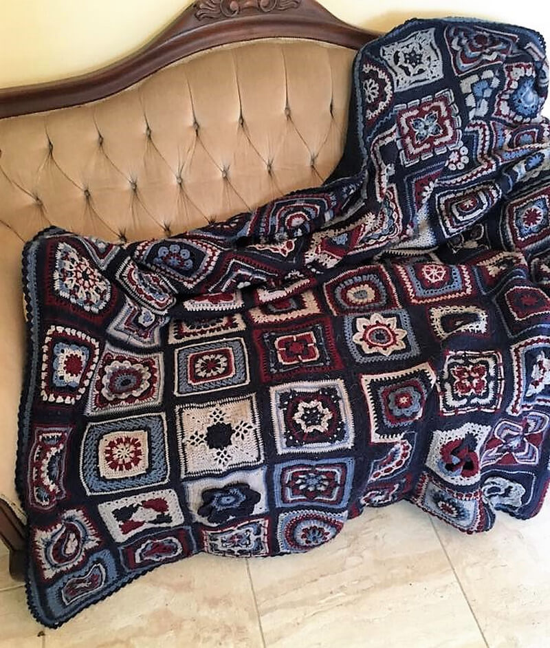 crocheted blankets 3