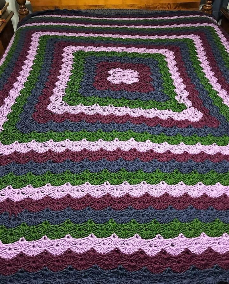 crocheted blankets 7