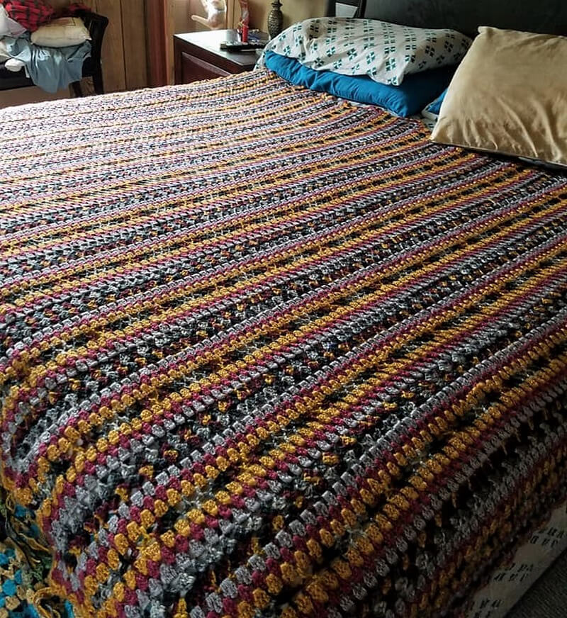 crocheted blankets 9