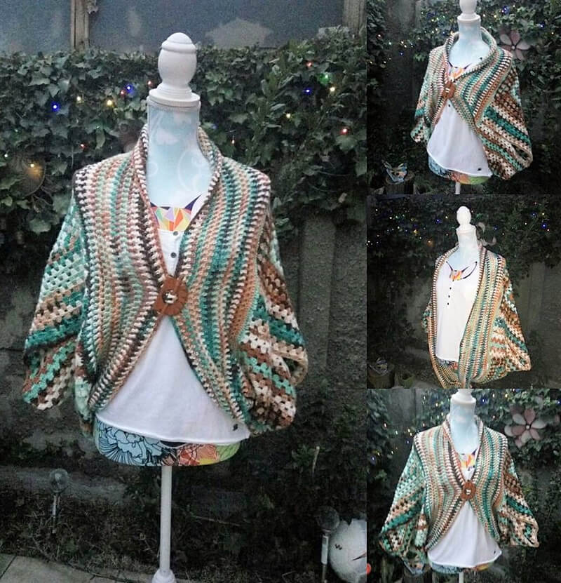 crocheted poncho 10