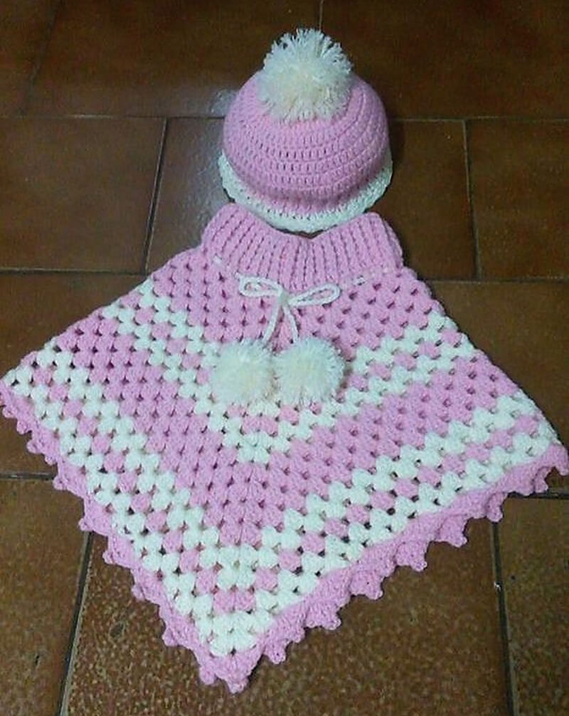 crocheted poncho 11