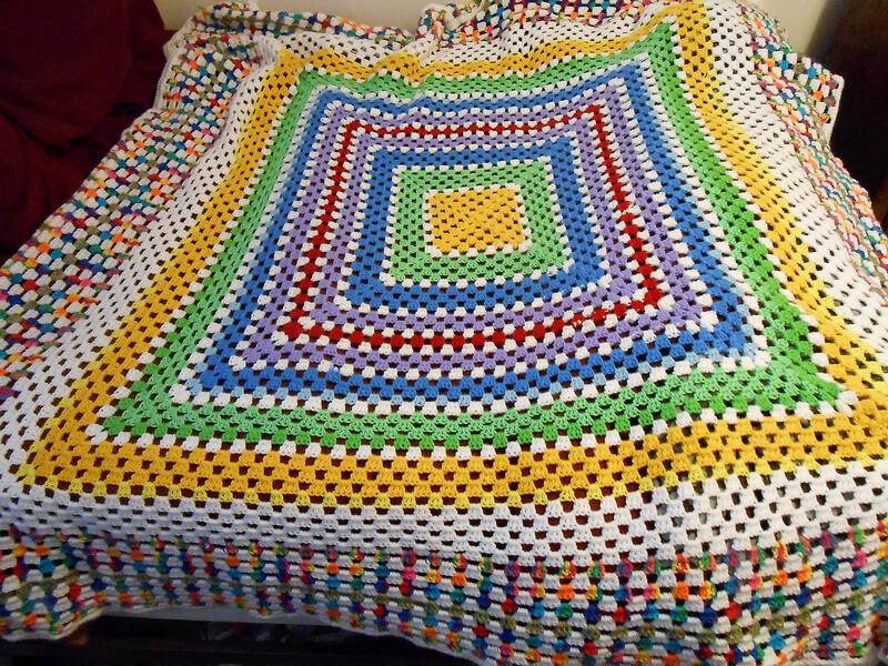 granny square blanket 7