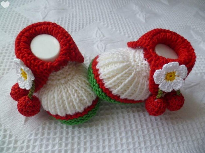 50 Crochet Baby Shoes Inspirations