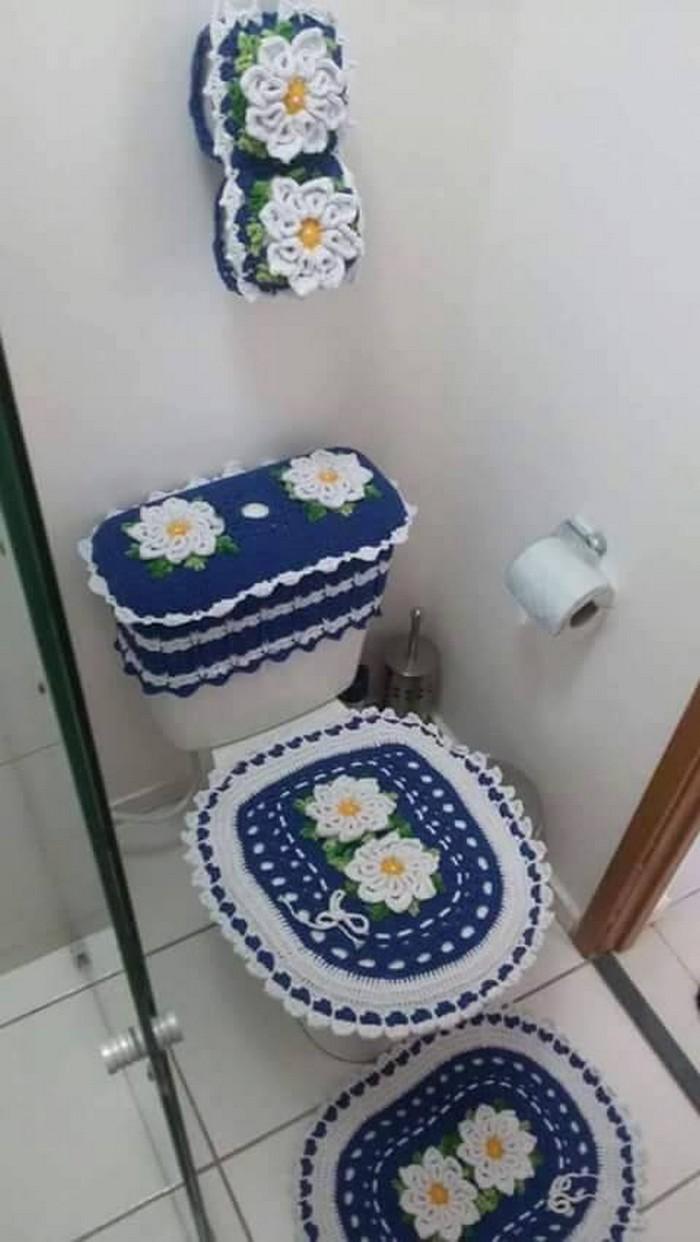 10 Crochet Bathroom Set Ideas – 10 Crochet