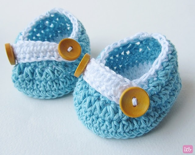 Patterns for Crochet Baby Shoes