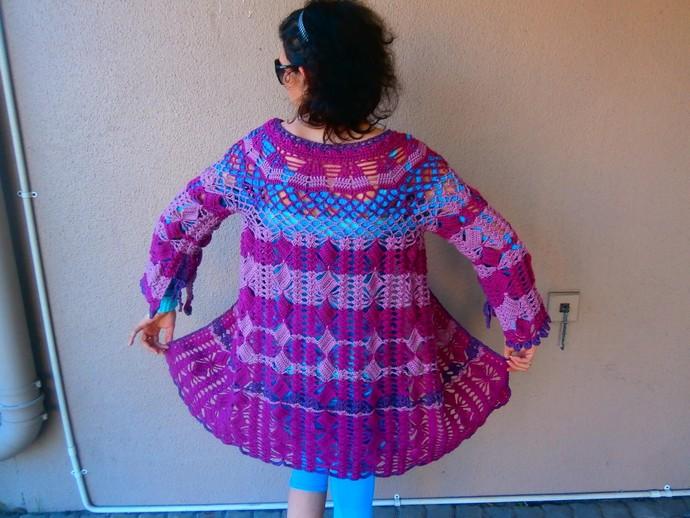 Beautiful Knitted Cardigan Sweater