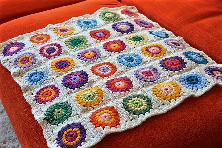 Easy & Free Granny Square Patterns
