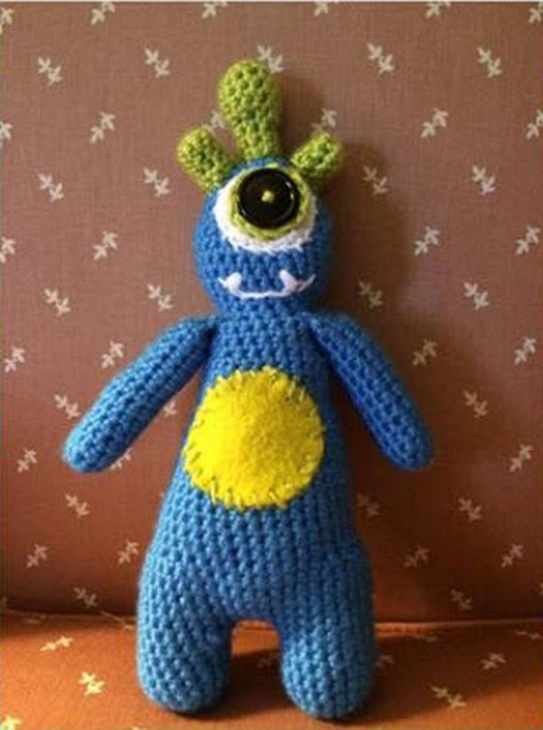 Crocheted Pocket Monster