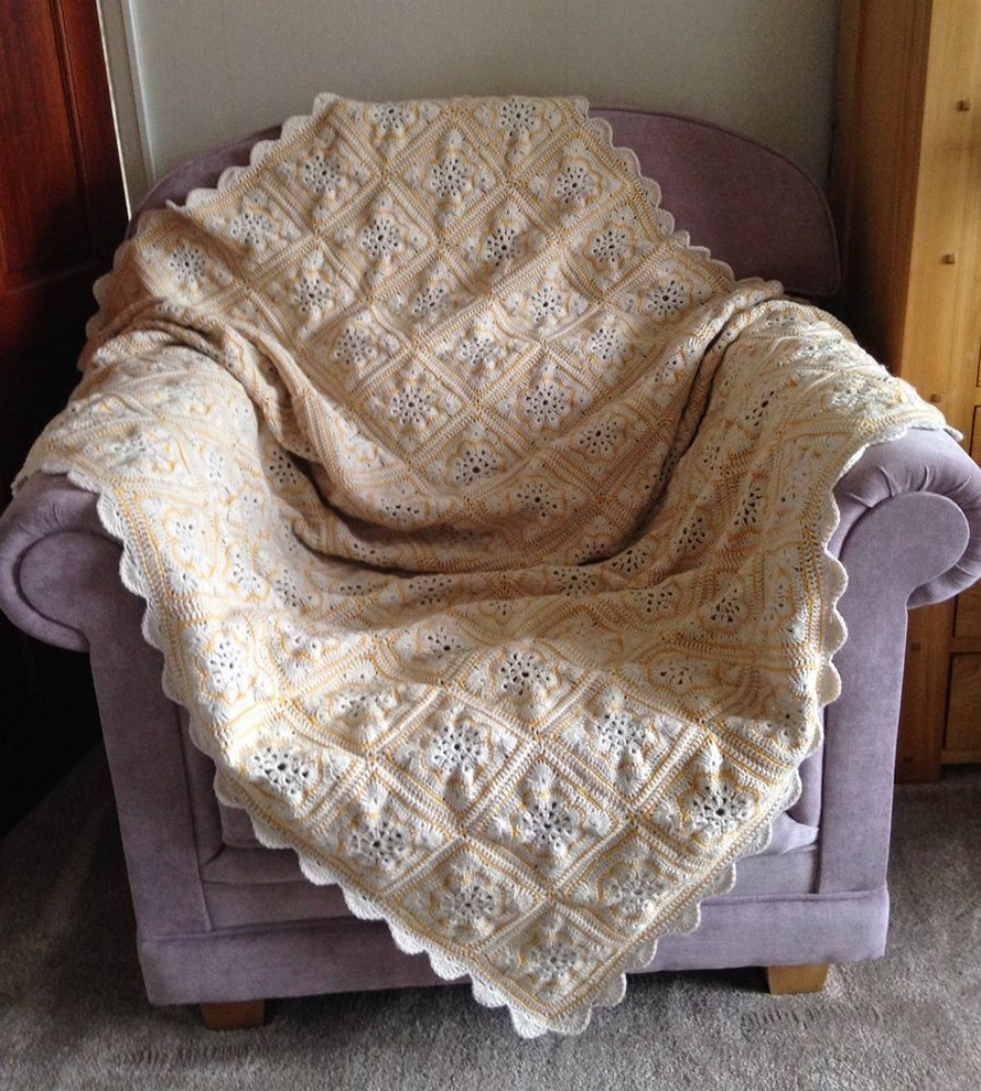 ‎Blanket Crocheted by Carole Carter‎