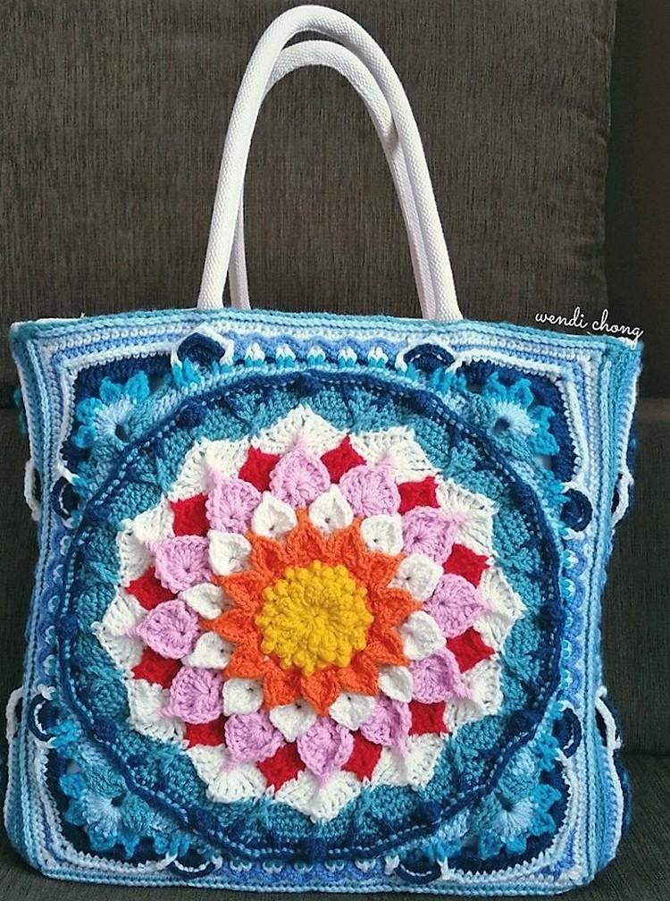 Crochet Bag Patterns 1001 Crochet