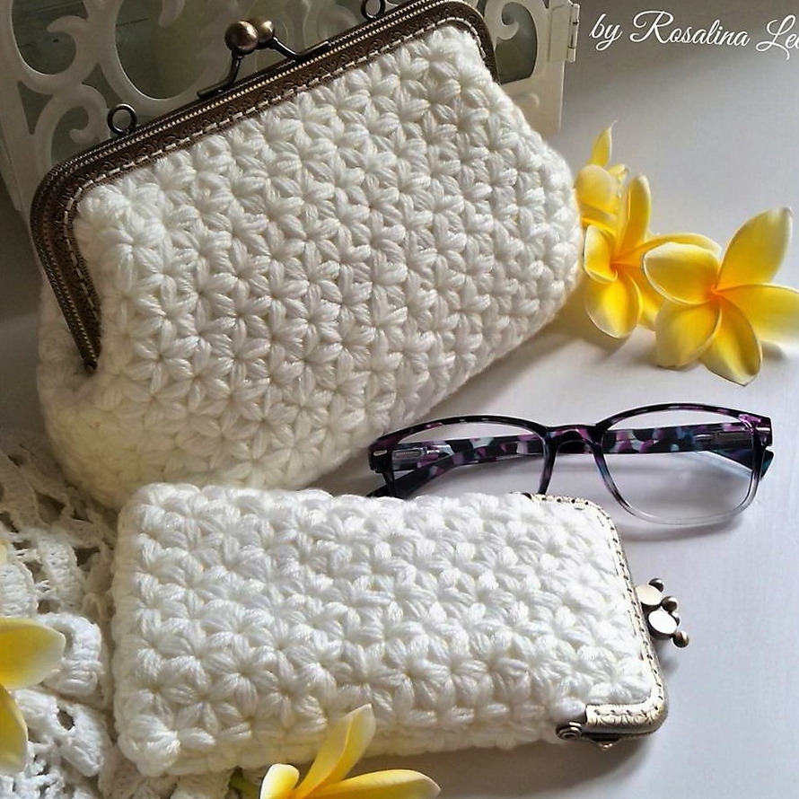 Crochet Purses Made by Rosalina Lee