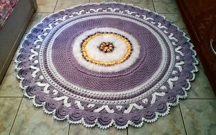 Design Inspirations for Crocheted Rugs