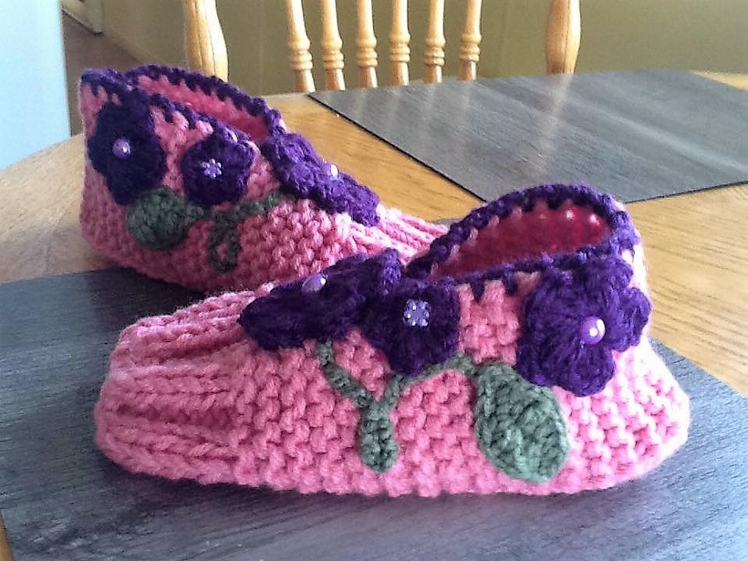 Inspirational Design Ideas for Crocheted Shoes
